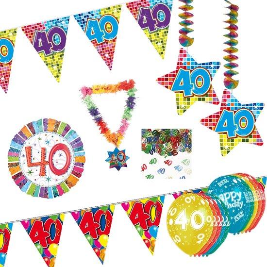 40 jaar verjaardag feestpakket bol.| 40 Jaar Versiering Pakket, Folat | Speelgoed 40 jaar verjaardag feestpakket