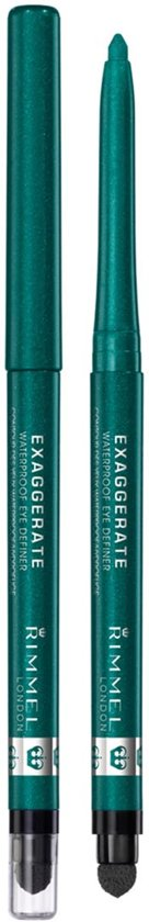 Rimmel London Exaggerate Full Colour  - 250 Emerald Green - Eyeliner