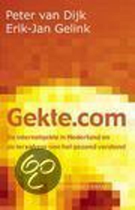 Cover van het boek 'Gekte.com'