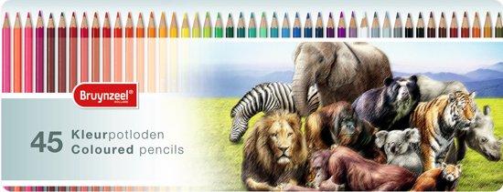 Kleurblik 45 kleurpotloden Wildlife