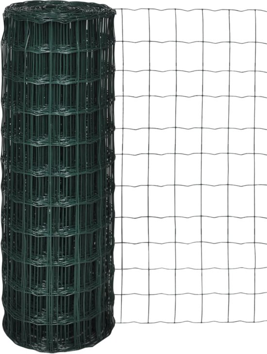 vidaXL Euro gaas 25 x 1,0 m / maaswijdte 76 63 mm