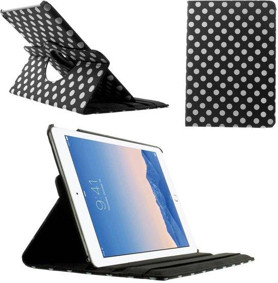 GSMWise - Apple iPad Air 2 - 360 graden Draaibare Beschermhoes Cover Tablethoes met Multi-stand - Zwart in Noduwez
