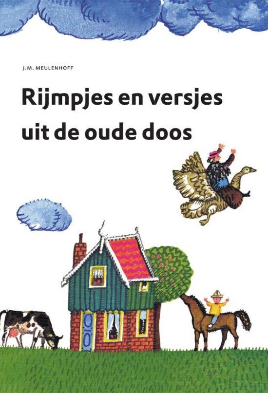 Cover van het boek 'Rijmpjes en versjes uit de oude doos' van Simon Abramsz