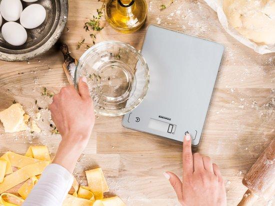 Soehnle - Page comfort 100 - Digitale keukenweegschaal - Zilver