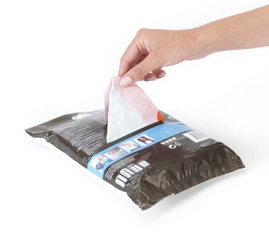 PerfectFit afvalzak met trekbandsluiting code B, 5 liter, 60 stuks/dispenser pack