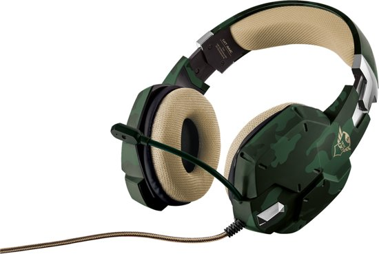 Trust GXT 322 Carus - Dynamische Gaming Headset - Camouflage