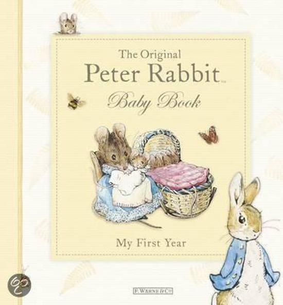 Kitten The Original Peter Rabbit Baby Book My First Year Bolcom Bolcom The Original Peter Rabbit Baby Book My First Year
