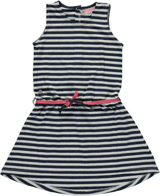 welbekend beste leverancier Officiële Website bol.com | Bampidano Meisjeskleding - blauw wit gestreepte ...