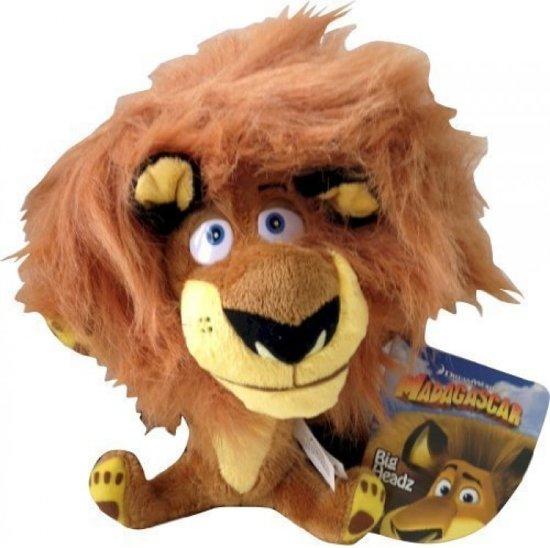 bol com | DreamWorks Madagascar Big Headz 20cm Plush - Alex