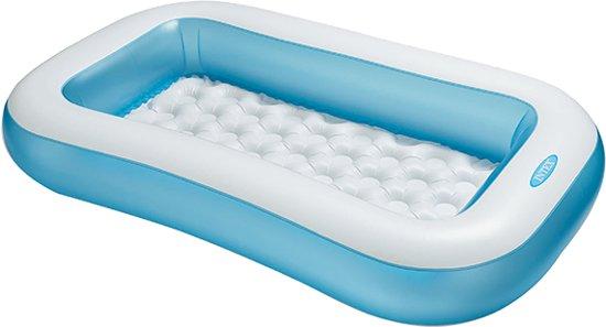 Intex rechthoekig baby zwembad 166x100x28 cm
