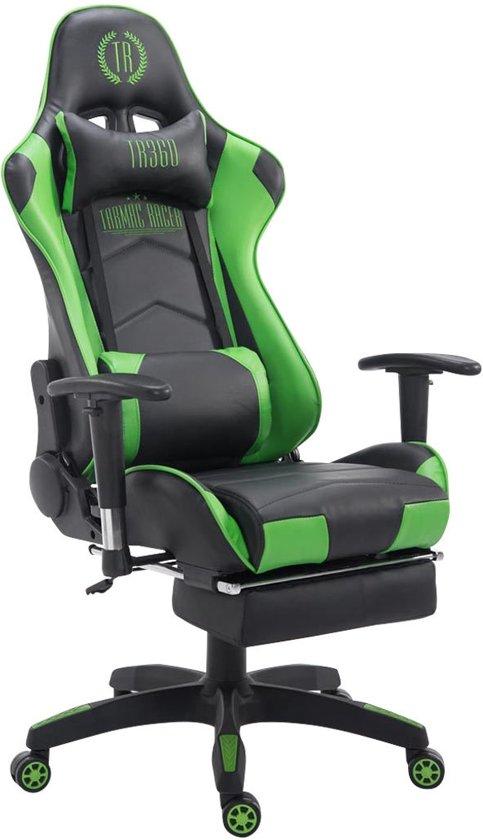 Clp TURBO - Gamestoel groen - groene gaming bureaustoel
