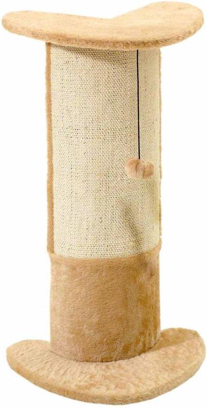 FLAMINGO Katten krabpaal Santo beige 71 cm 5334575