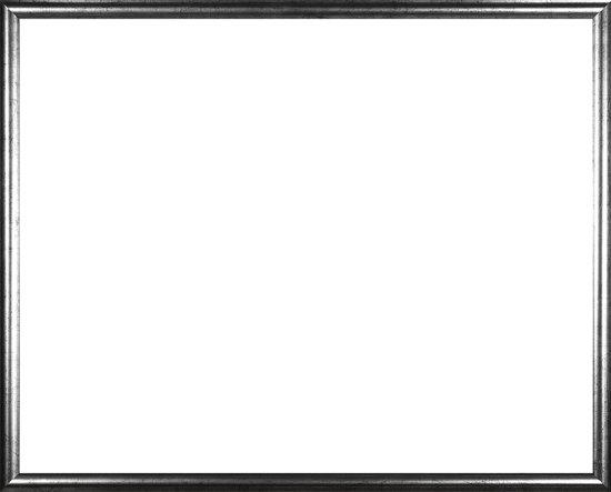 Homedecoration Biggy – Fotolijst – Fotomaat – 26 x 26 cm – Kunststof – Zilver antiek