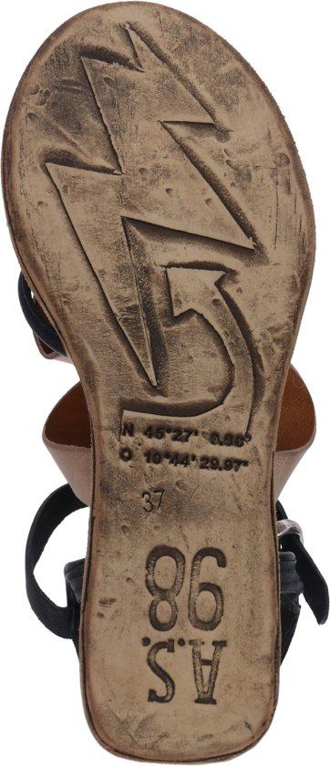 A.s.98 Sandalen Met Riem Sandale Lagos Beige-37