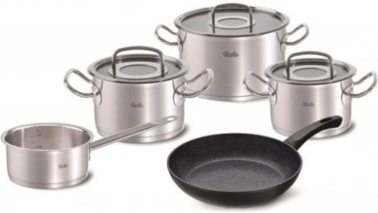 Fissler original profi collection 4dlg set+stardust koekenpan, 24cm