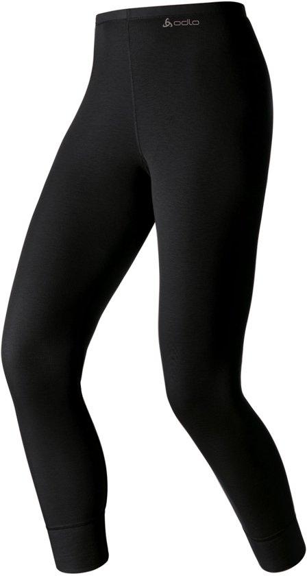 Odlo Bl Bottom Long Active Warm Dames Sportonderbroek - Black - Maat S