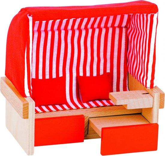 Strandstoel Baby Born.Bol Com Goki Houten Poppen Strandstoel Voor Twee Goki Speelgoed