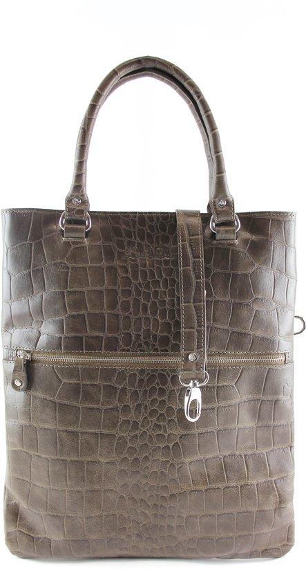 Vintage bag taupe Loulou Croco handtassen Essentiels 3jq5AR4L