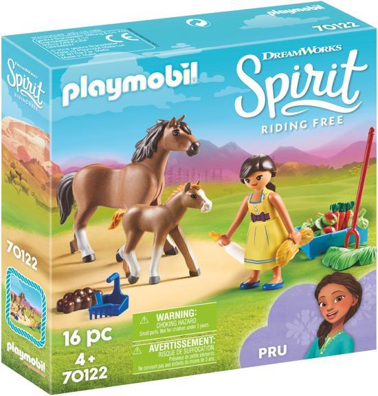 PLAYMOBIL Pru met paard en veulen - 70122