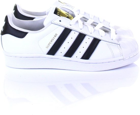 Superstar Adidas 3 37 zwart Maat J 1 Wit Originals fdxdOgB
