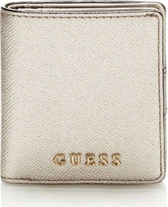 b80253f87aa bol.com   Guess Portemonnee Isabeau Mini Wallet Silver SWISABP7199SIL