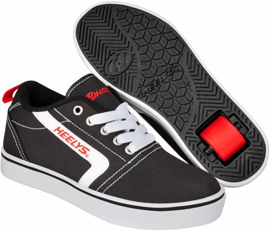 Chaussures À Roulettes Heelys Gr8 Pro - Chaussures De Sport - Enfants - Taille 34 - Noir / Rouge 0FrdH5Gqou