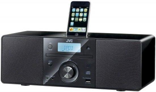 jvc rd n1 dockingstation met radio en cd speler. Black Bedroom Furniture Sets. Home Design Ideas