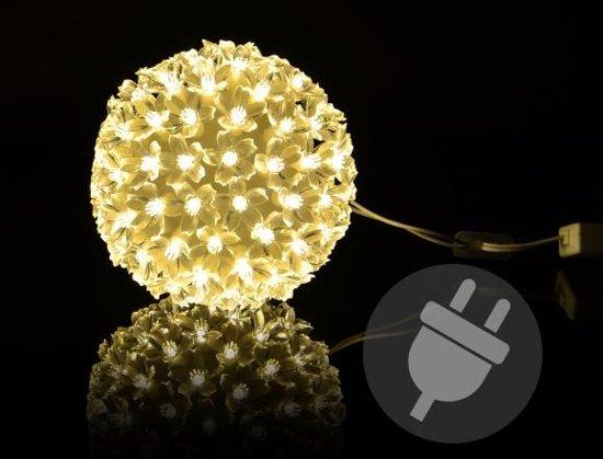bol.com | Trend24 - Kerstmis lichtbal LED warmwit kerstbal