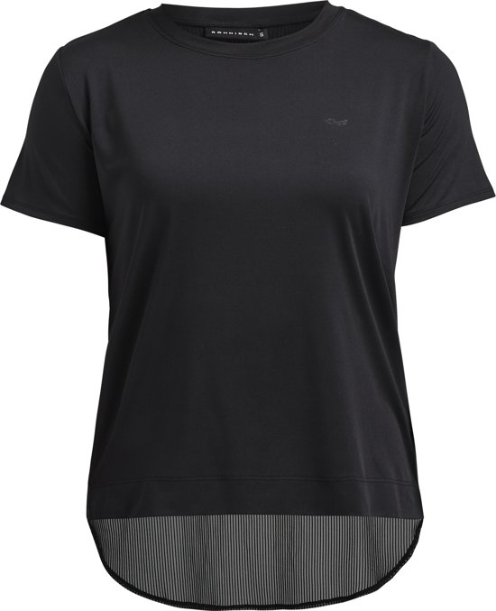 Reebok Workout Ready Melange Tech Top Heren Sportshirt Color Grey Maat S