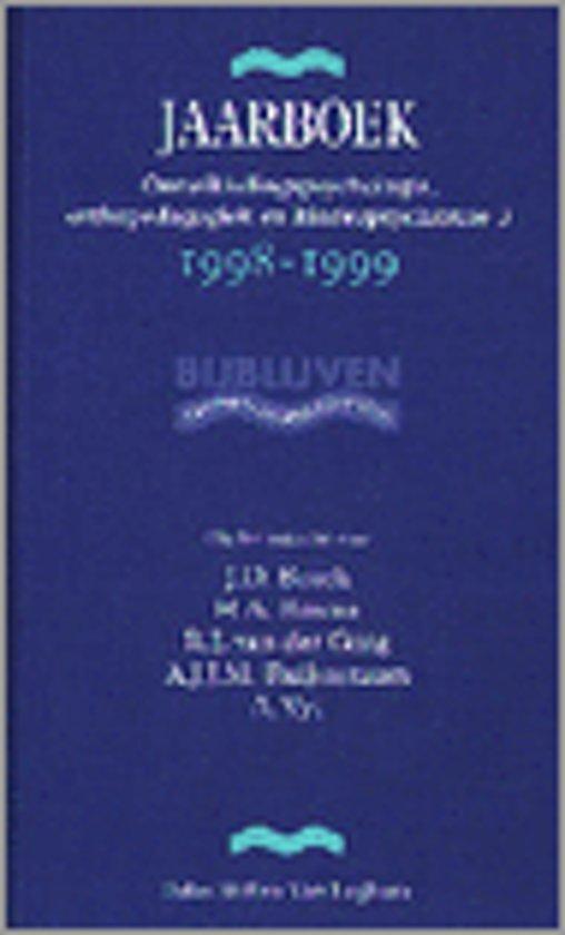 JAARBK ONTWIKKELINGSPSYCHOLOGIE 3 98-99