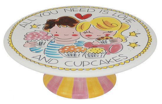 Blond Amsterdam Taartplateau Cupcake - Aardewerk - 23 cm