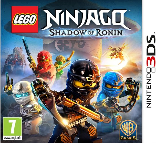 LEGO, Ninjago 3, Shadow of Ronin - 2DS + 3DS kopen