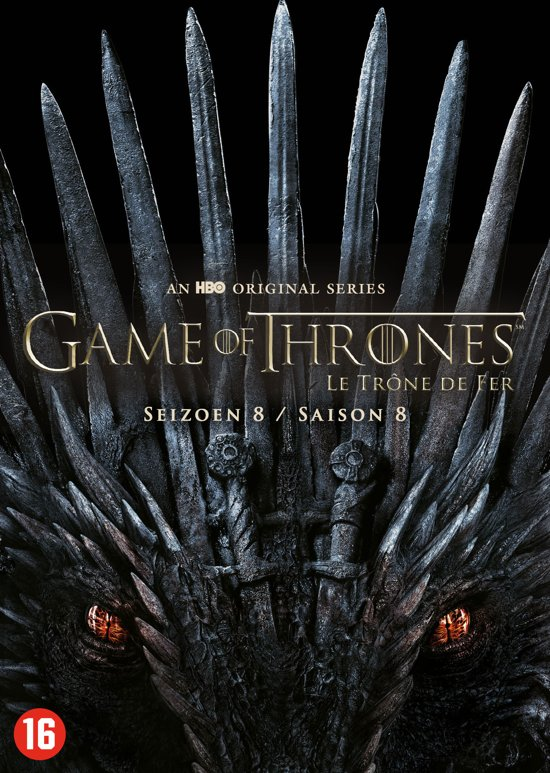 DVD cover van Game of Thrones - Seizoen 8 (Limited Edition)
