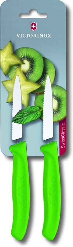 Victorinox Groente/Schilmes Kartel Set 2delig Groen