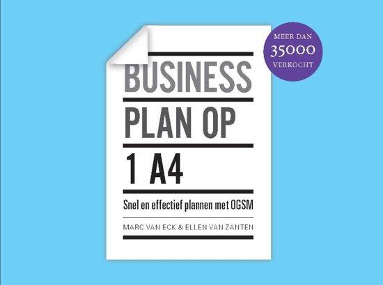 Businessplan voorbeeld