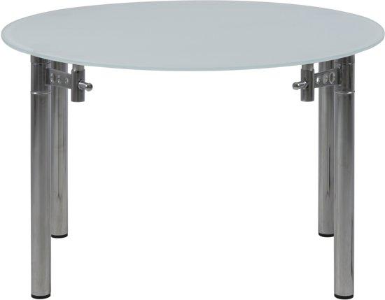 Salontafel Mat Glas.Bol Com 24designs Verlengbare Tafel Walker O120 X H75