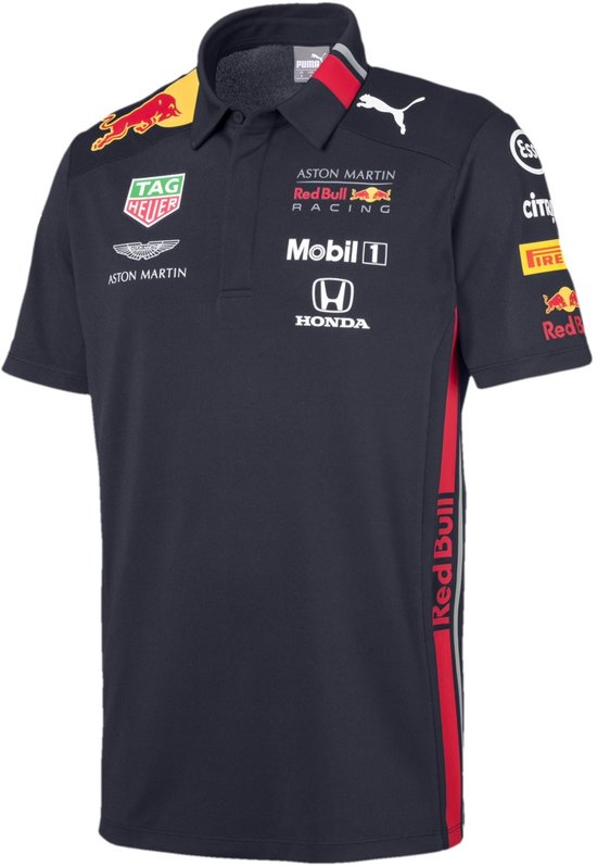 PUMA Red Bull Racing Team Polo Shirt Heren - Night Sky - Maat L