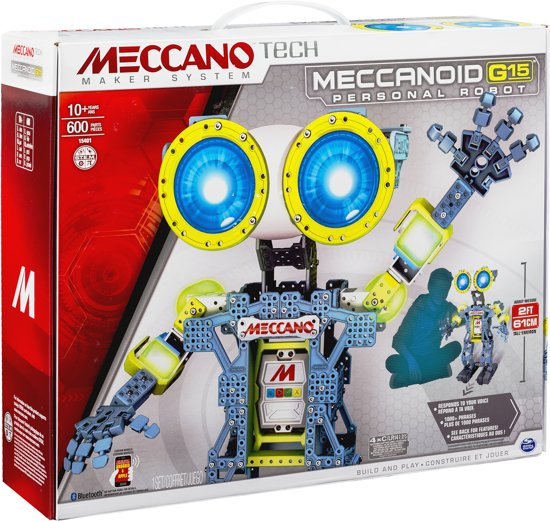 meccano meccanoid g15 robot spin master. Black Bedroom Furniture Sets. Home Design Ideas