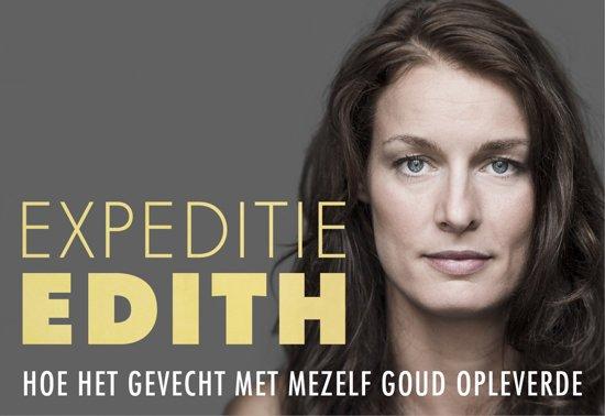 Boek cover Expeditie Edith - dwarsligger (compact formaat) van Edith Bosch (Onbekend)