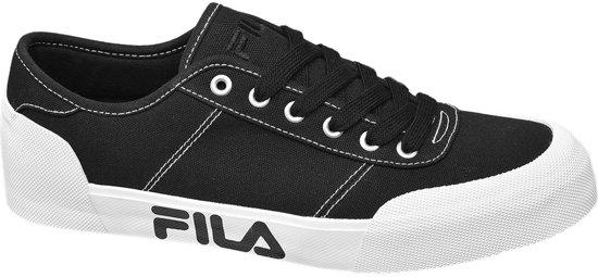 cbb7a2332b4 bol.com | Fila Heren Zwarte canvas sneaker - Maat 43