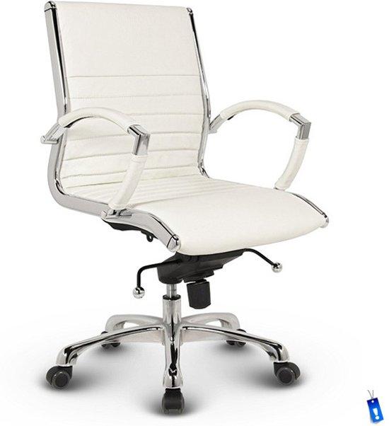 Bureaustoel Met Verstelbare Rugleuning.Bol Com Bureaustoel Lincoln Relax Design Lage Rugleuning 100