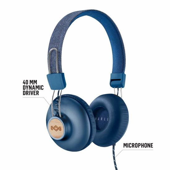 House of Marley Positive Vibration 2.0 Blauw