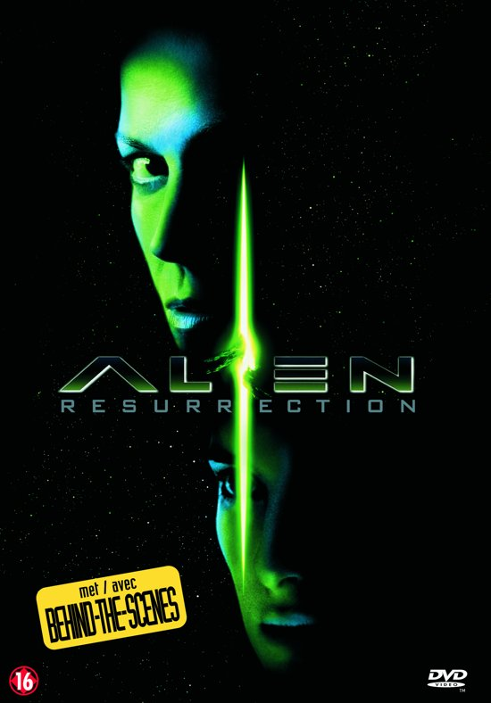 Cover van de film 'Alien - Resurrection'