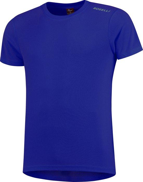 Rogelli Promo Running T-shirt - Sportshirt - Mannen - Maat L - blauw
