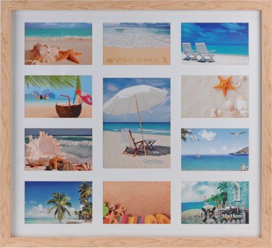 Grote Houten Fotolijst.Grote Collage Fotolijst Van Hout
