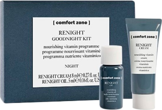 2 delige cadeau set Comfort Zone Renight Cream 8ml + Comfort Zone Renight Oil 5ml