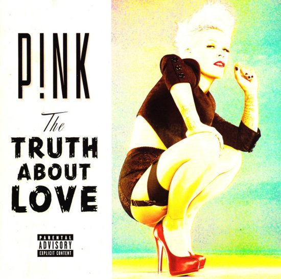 CD cover van The Truth About Love van Pink