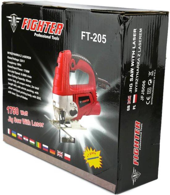 FIGHTER FT-205 Decoupeerzaag met laser - 1750W