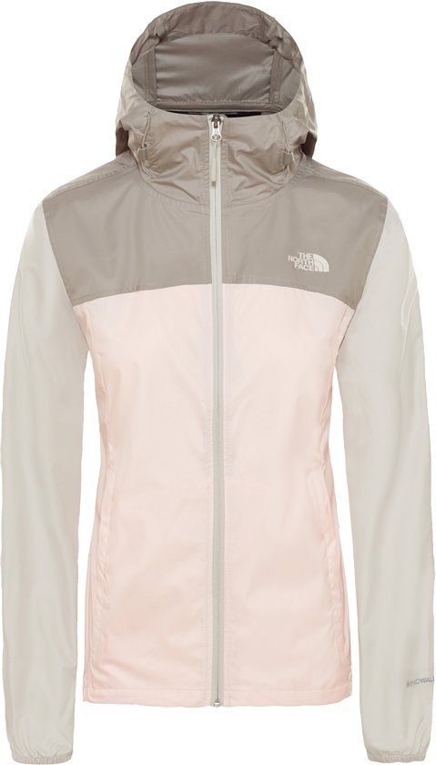3dbb42de268 The North Face Cyclone Jacket Jas Dames - Pink Salt Multi