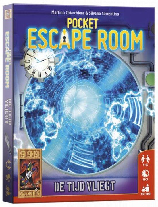 Pocket Escape Room: De Tijd vliegt Kaartspel